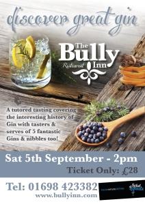 bully gin tasting
