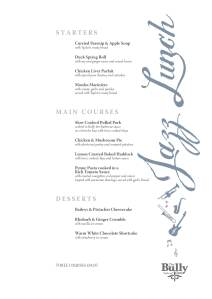 bully jazz menu1