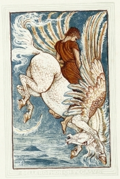 Bellerophon taming Pegasus