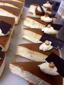 Salted Caramel & Hazelnut Cheesecake