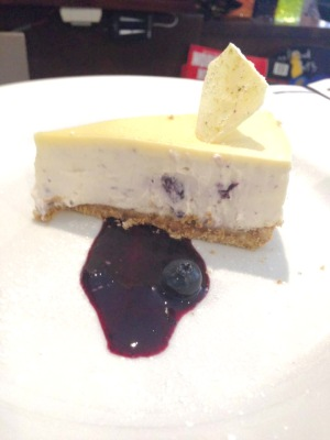 blueberry & white choclate