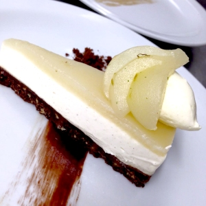 chocolate & pear